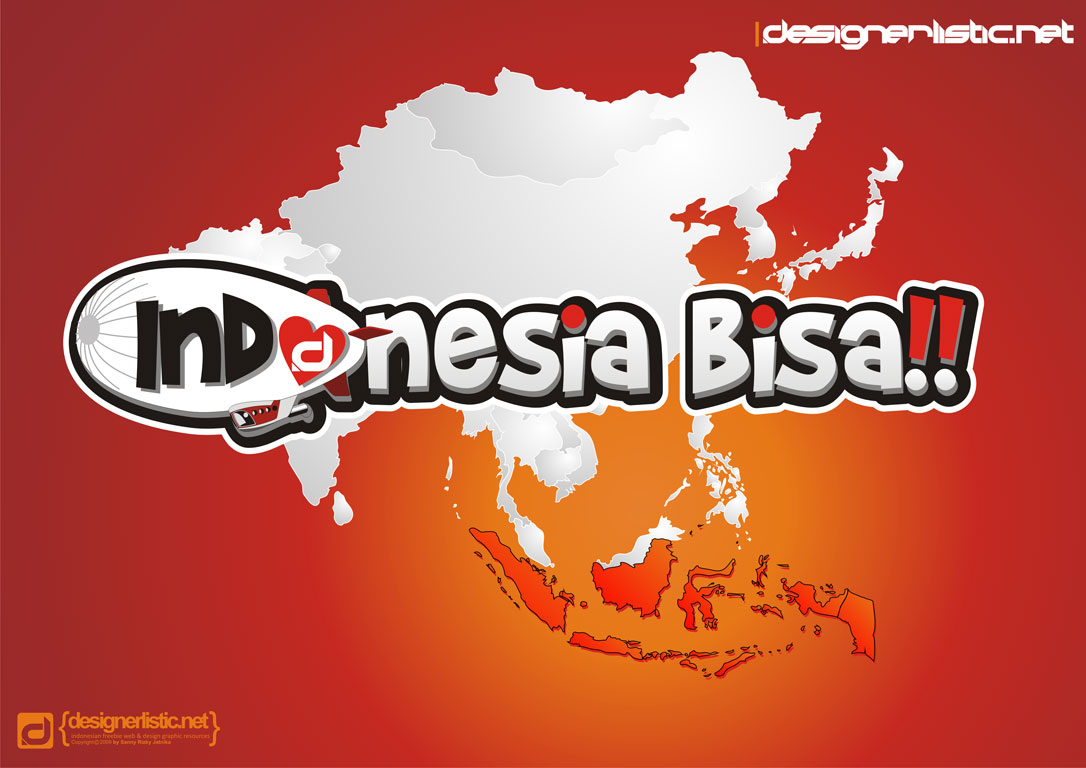 wallpaper i love indonesia 2009